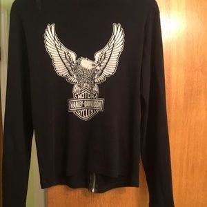 Harley-Davidson light weight t-shirt style jacket